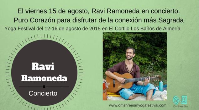Ravi Ramoneda en Concierto